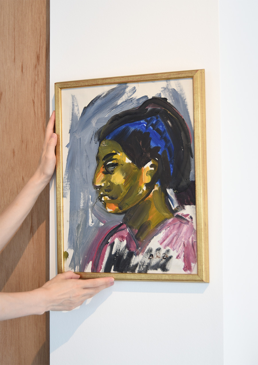 Arne Roland AnderssonOil Painting Portrait of a Woman