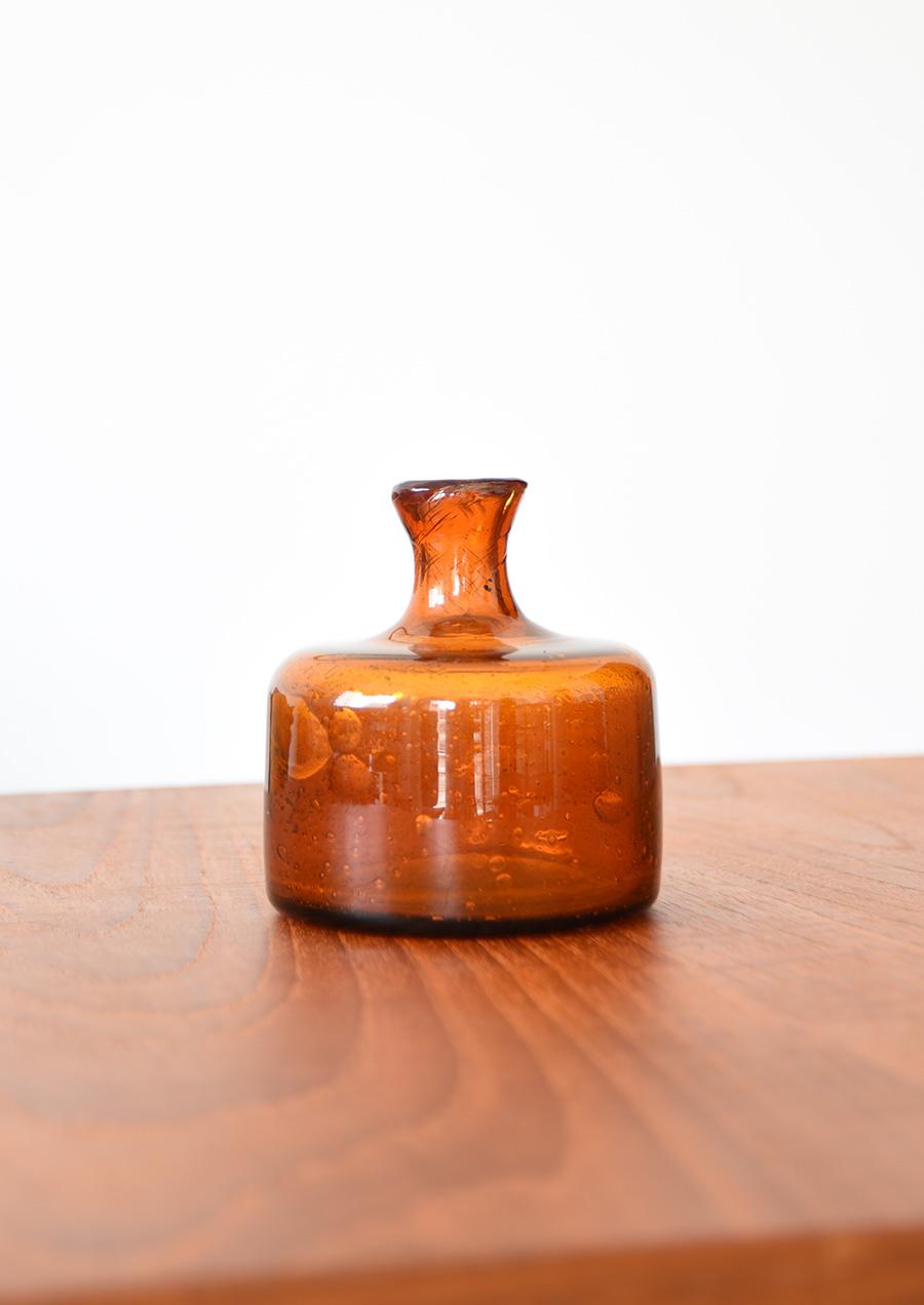 Erik Hoglund Amber Small Vase