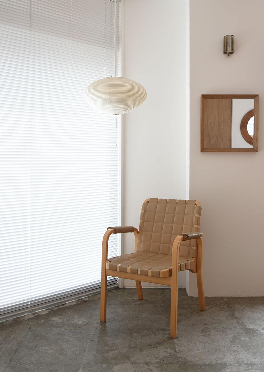 Alvar Aalto(アルヴァ・アアルト) No.45 アームチェア レザー