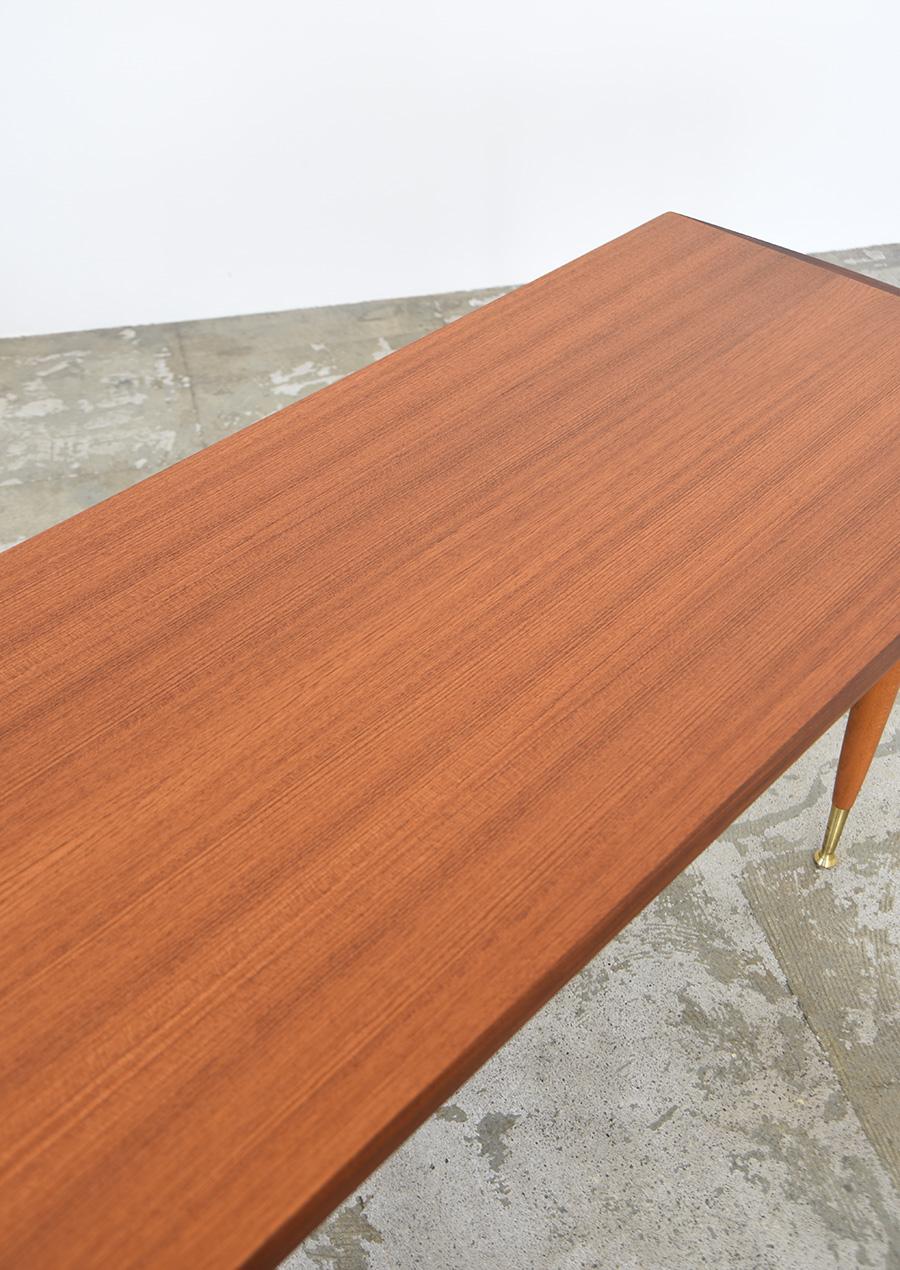 スウェーデン製 ヴィンテージのコーヒーテーブル チーク材