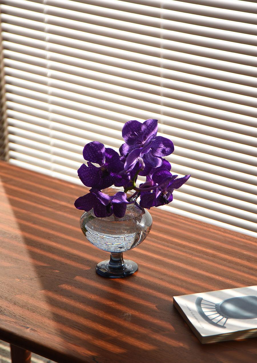 Erik Holund エリック・ホグランのグレーの花瓶