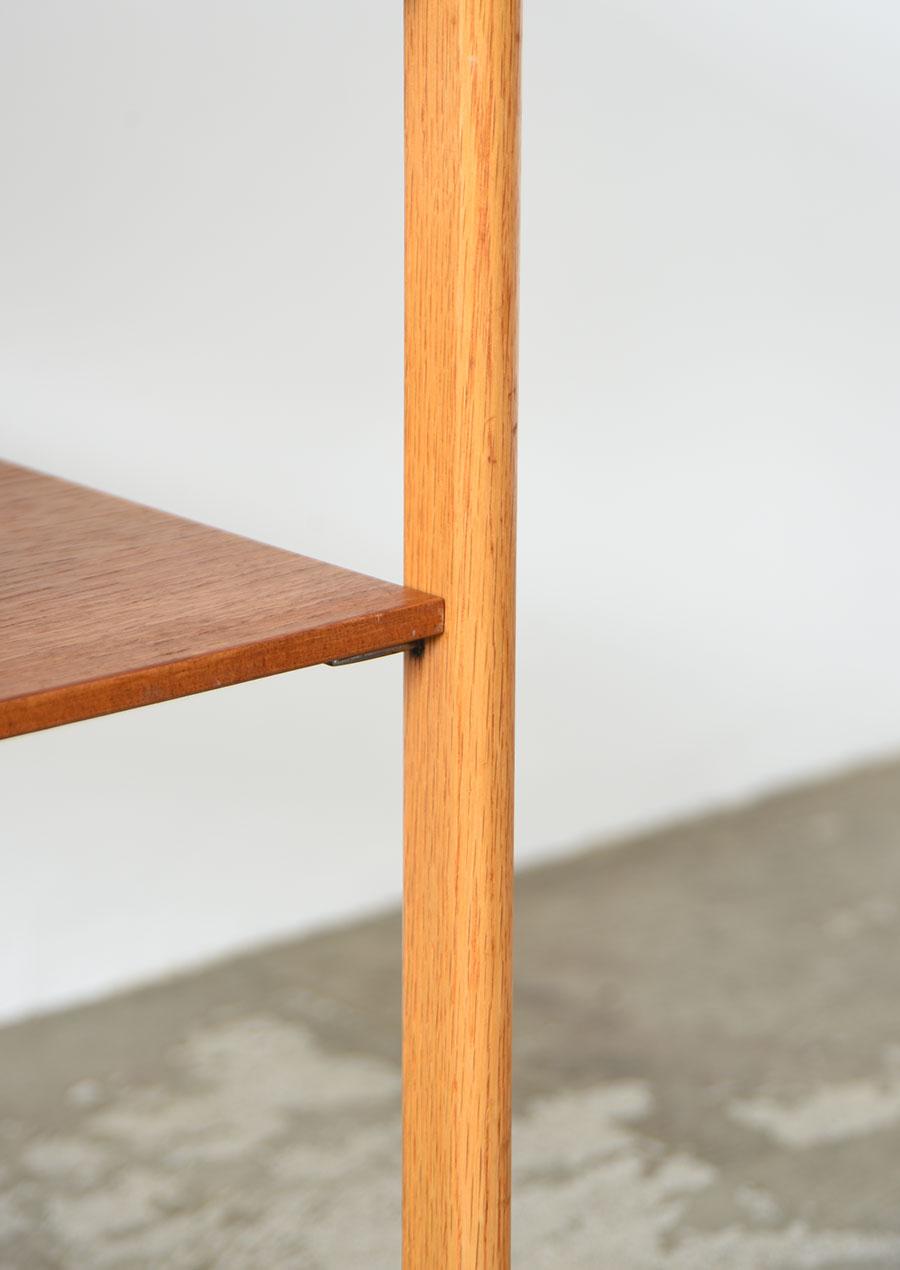 ヴィンテージのベッドサイドテーブル チーク&オーク