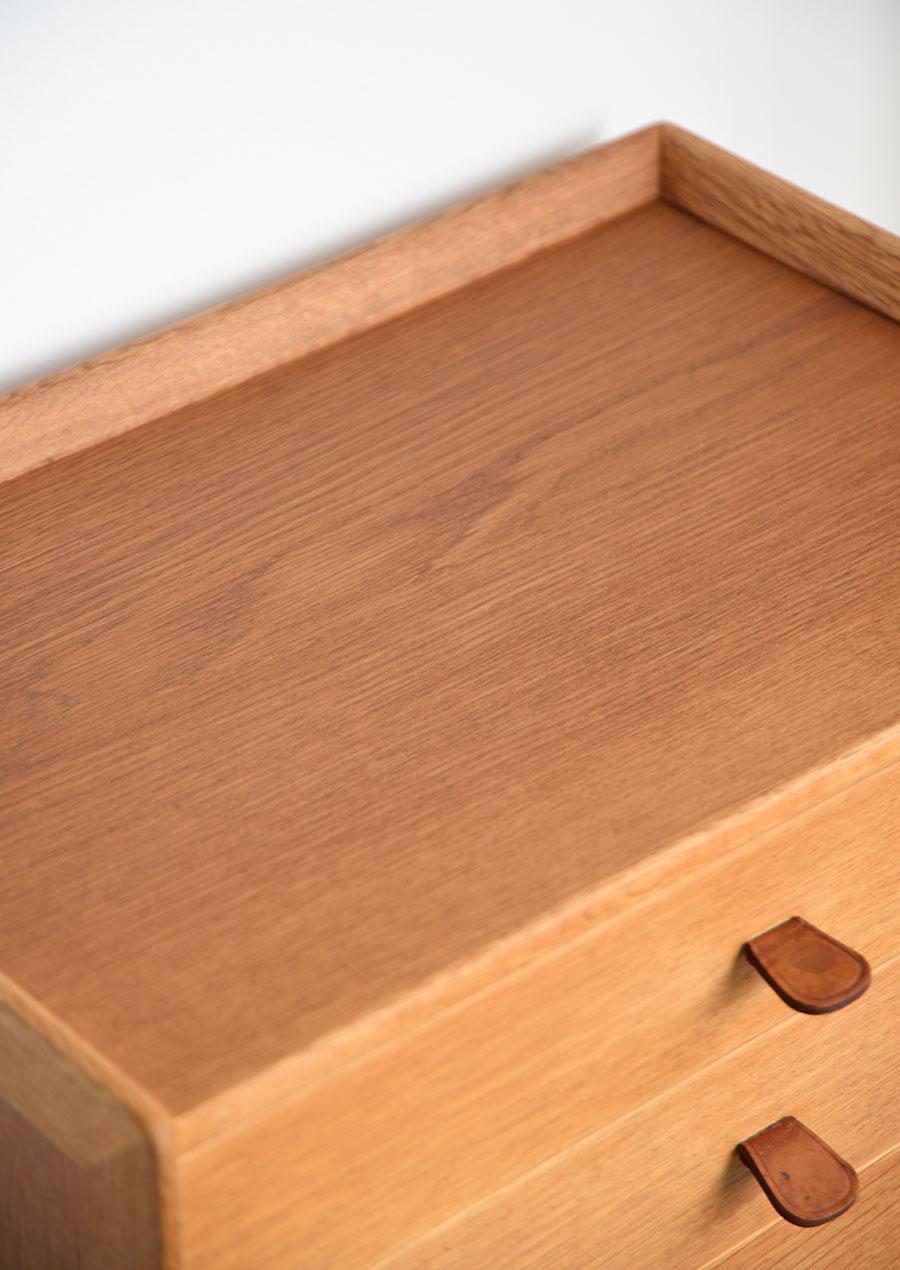 スウェーデン製のヴィンテージチェスト オーク材