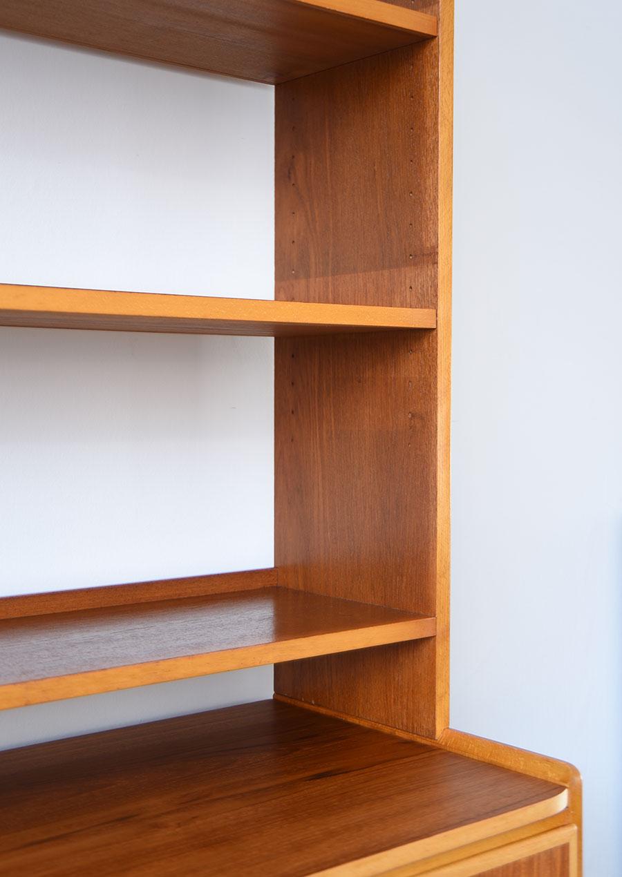 スウェーデン製のヴィンテージブックシェルフ 本棚