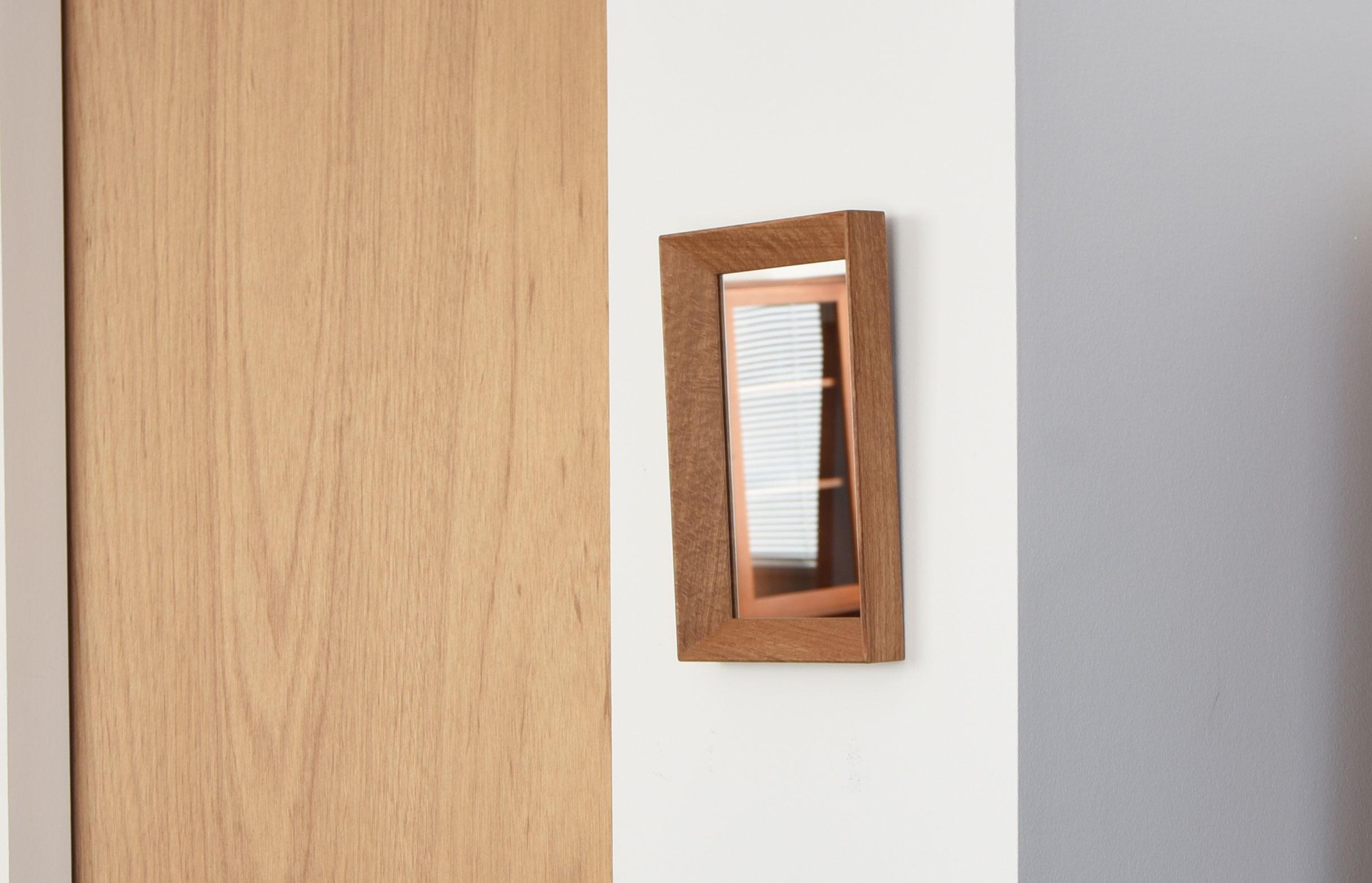 ihållande オリジナル 壁掛け鏡 ミラー