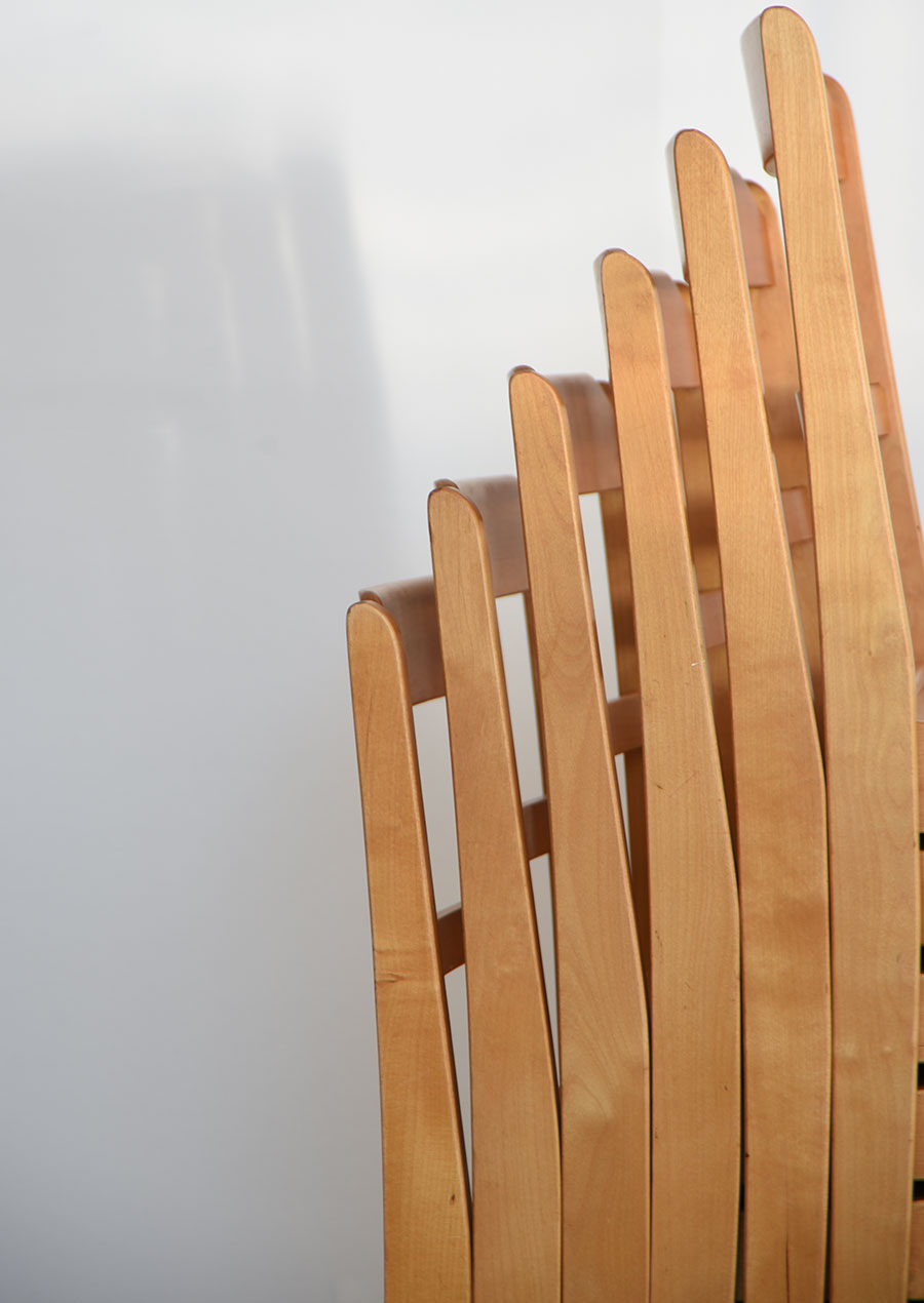 Stacking Chair in Birch スタッキングチェア