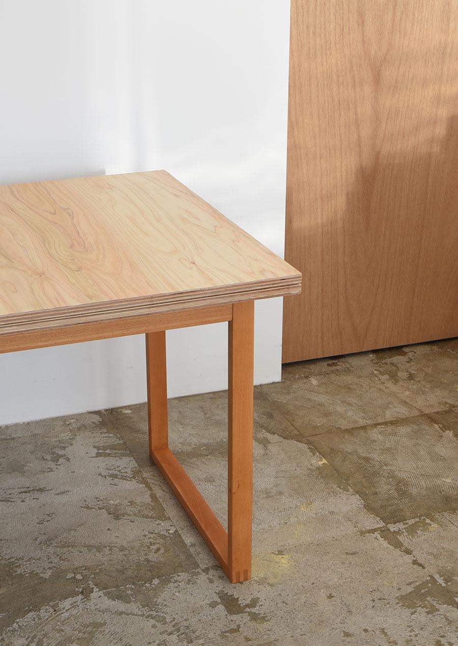 ihållande Reconstruction Table 再構築 ダイニングテーブル