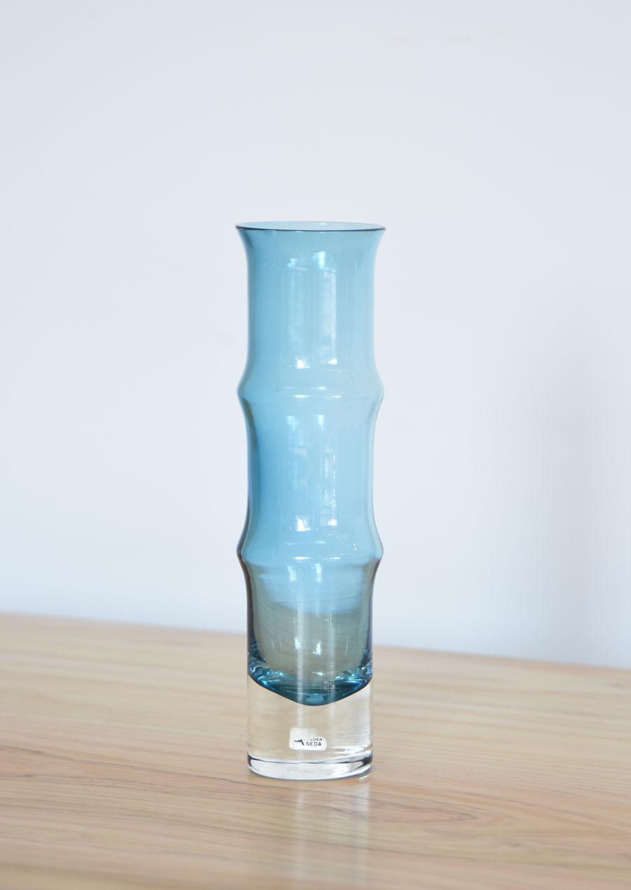 Åseda(オーセダ)の花瓶 Aseda ブルー bamboo