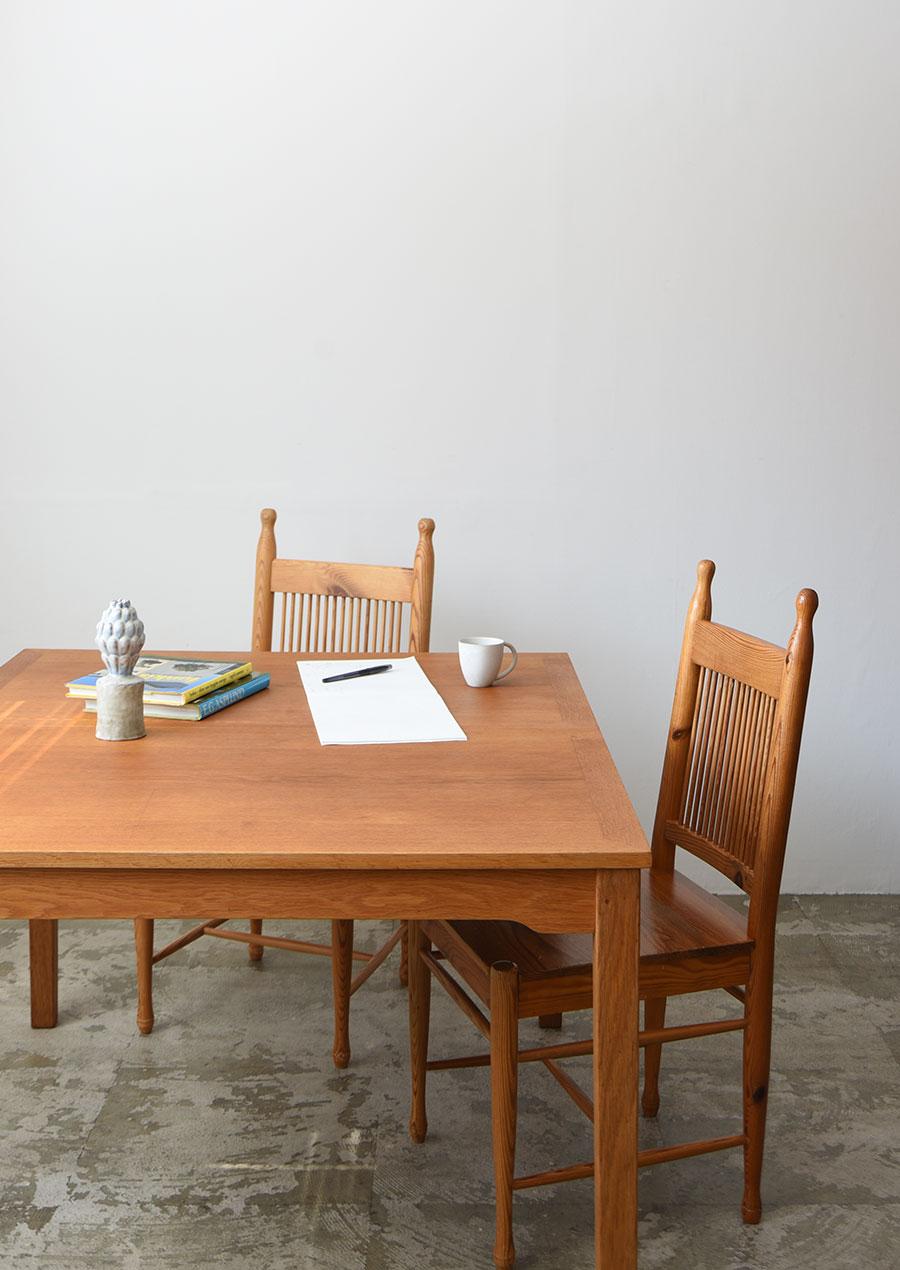 Dining Table in Oak 1200 ダイニングテーブル オーク材