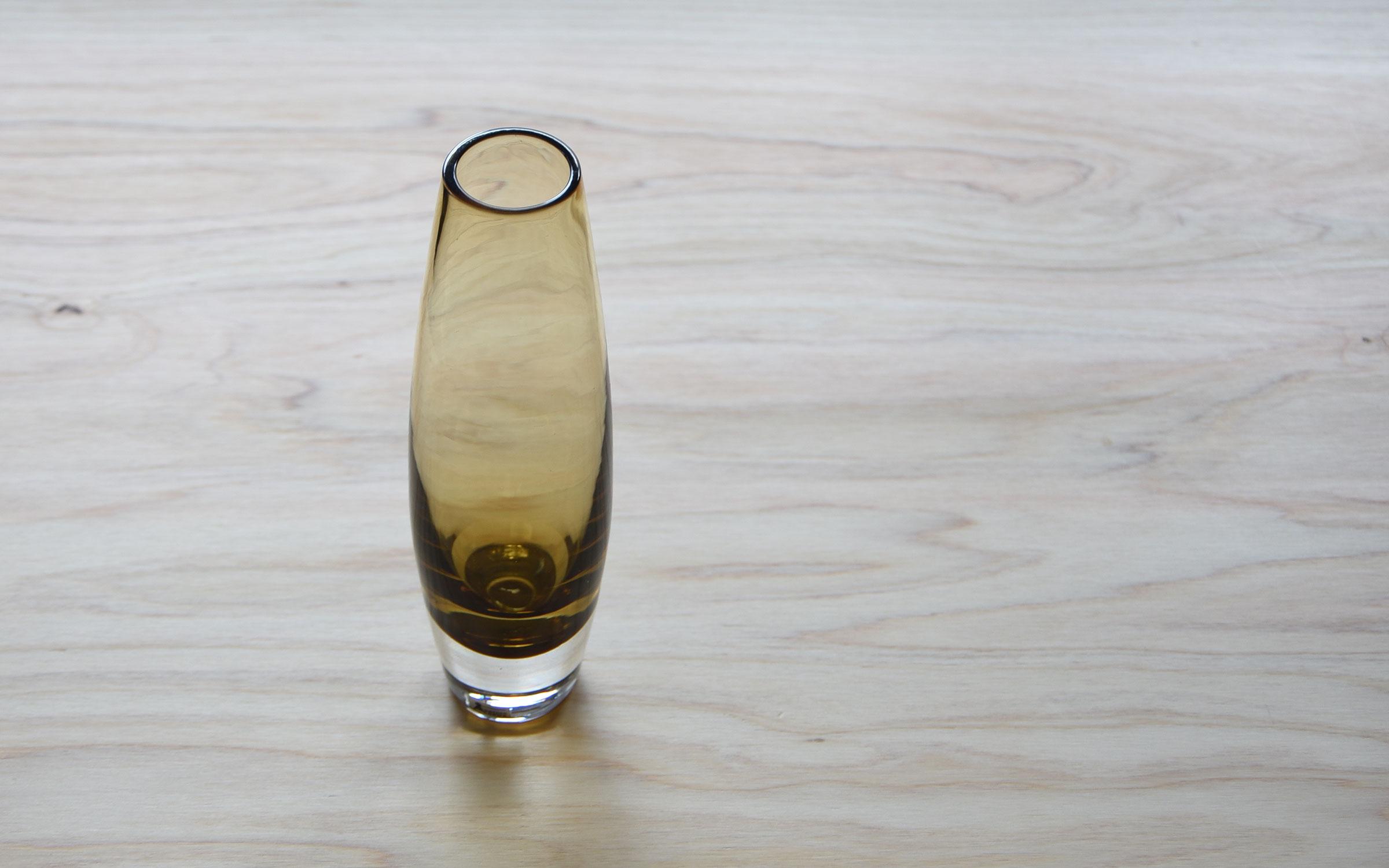 Bo Borgström Vase Brown Åseda オーセダ 花瓶 スウェーデン