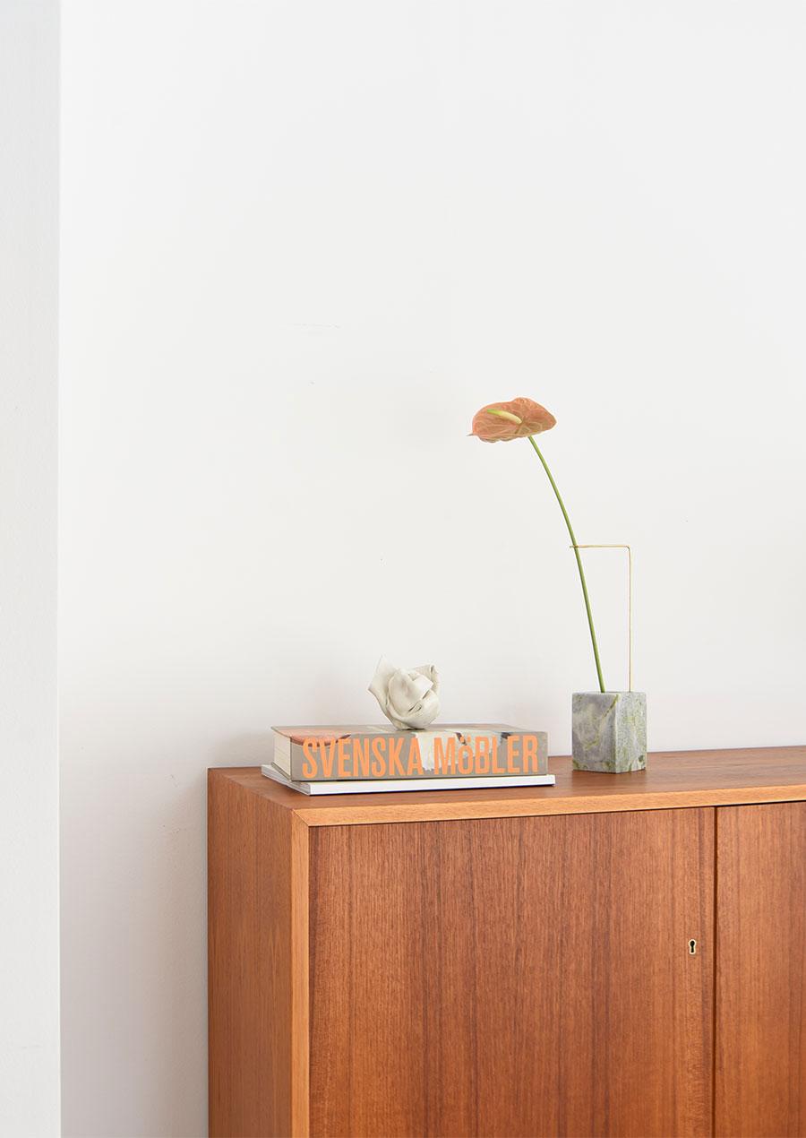 Posture Vase N.1 Green Jade / Studio Kleiner x Bloc Studios 大理石 花瓶