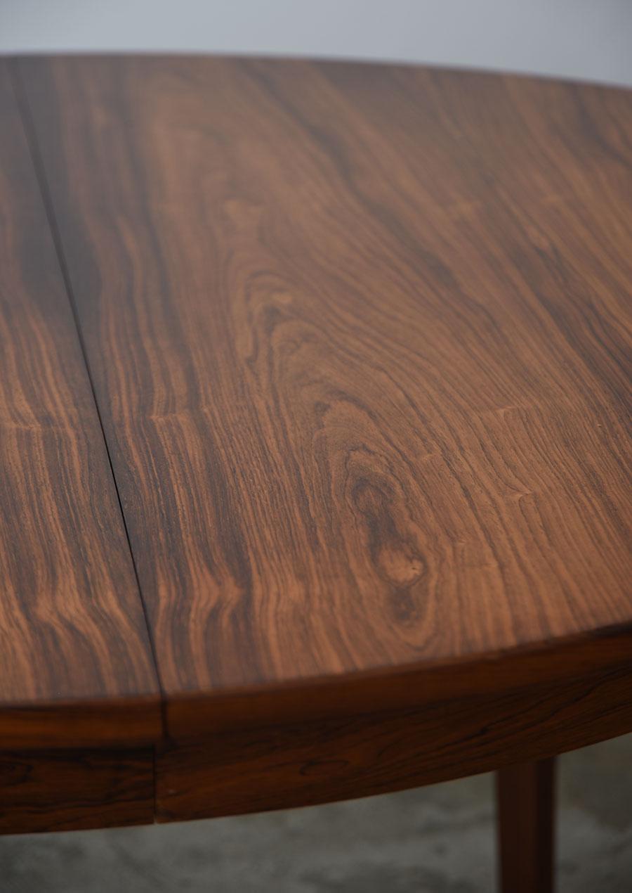 Round Dining Table in Rosewood ダイニングテーブル ローズウッド 円形 ラウンド
