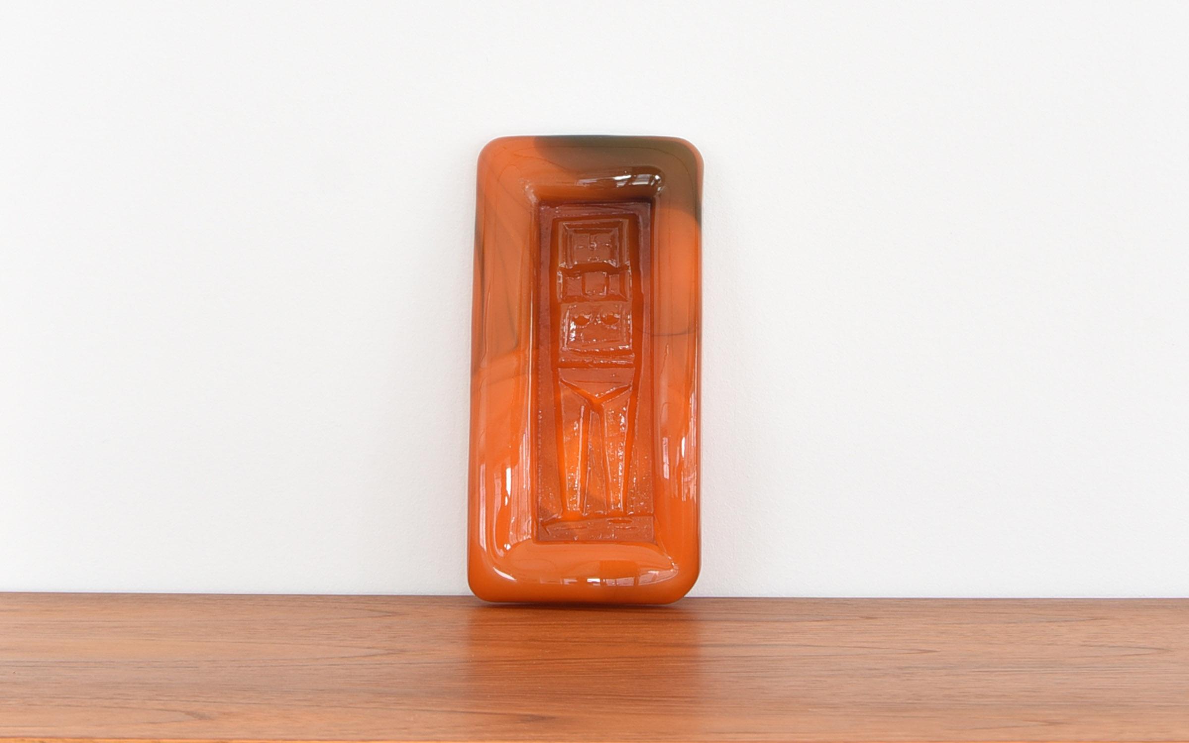 Erik Hoglund Ashtray XL Orange