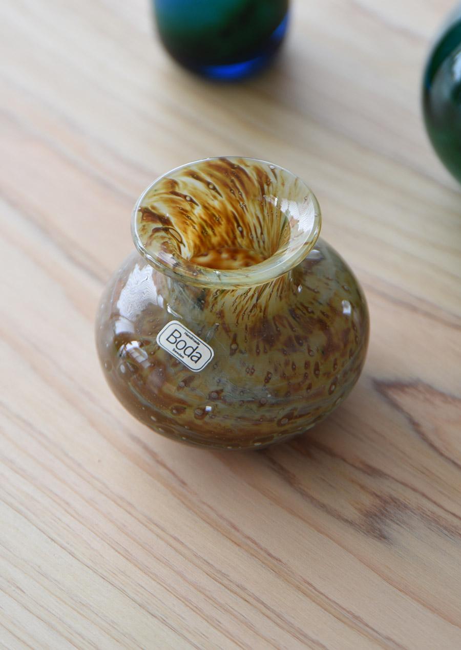 Bertil Vallien バーティル・ヴァリーン Mini Vase Jupiter Boda