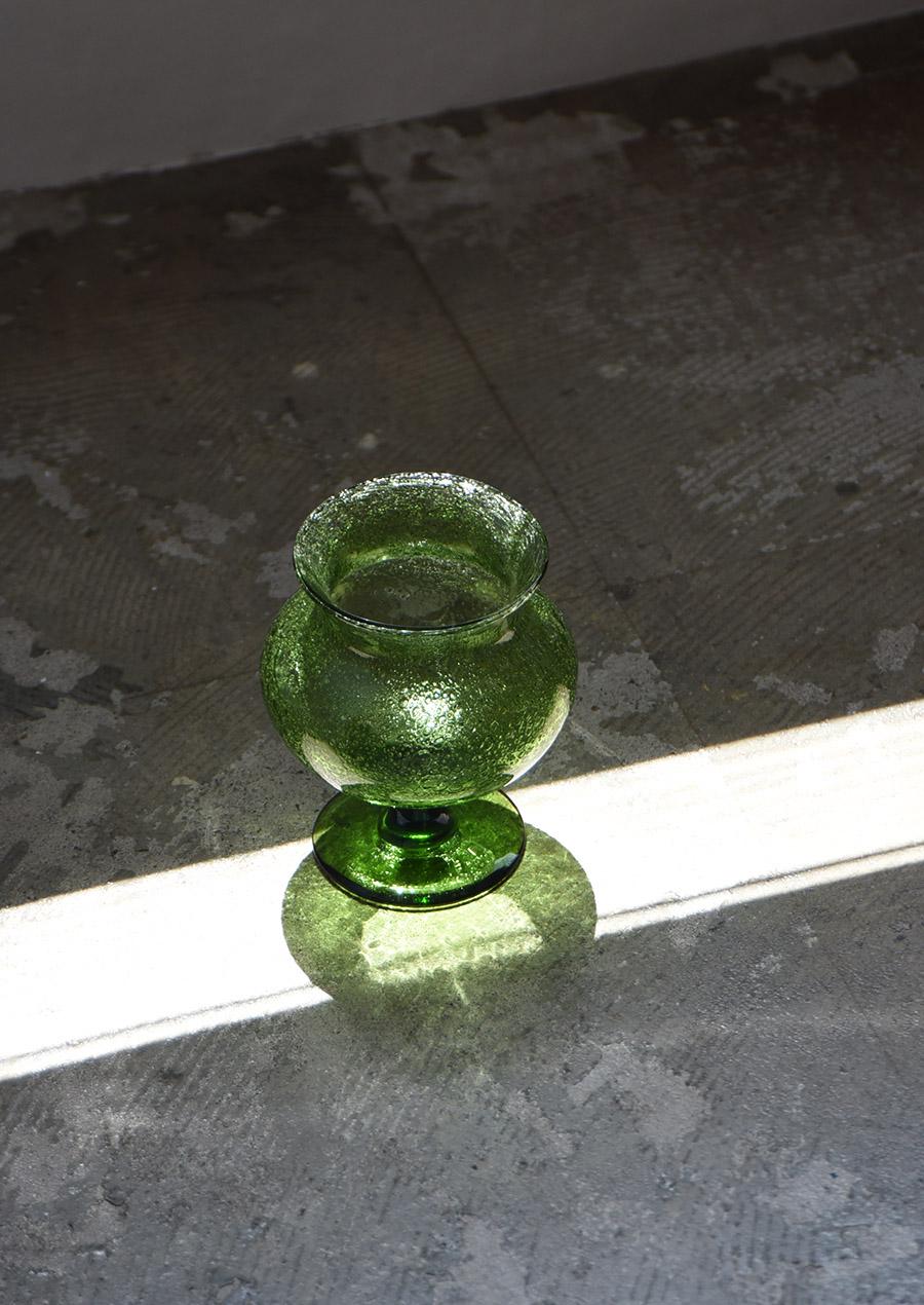 Erik Hoglund エリック・ホグラン Green Goblet 花瓶