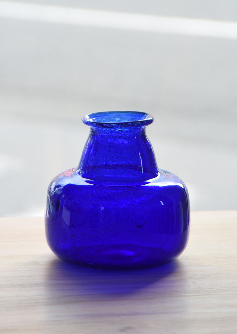 Erik Hoglund (エリック・ホグラン)Blue Vase M 花瓶