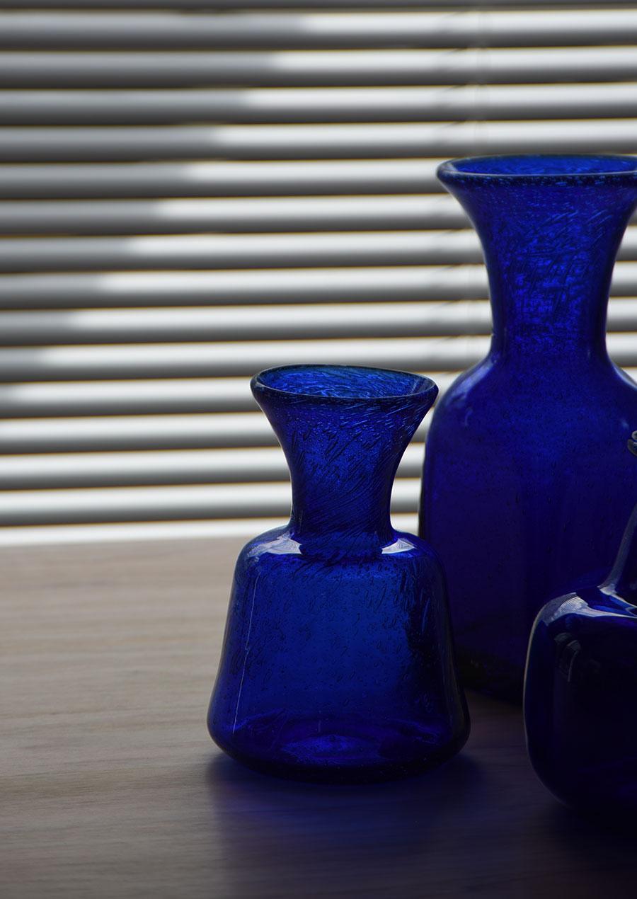 Erik Hoglund(エリック・ホグラン) Blue Vase S 花瓶
