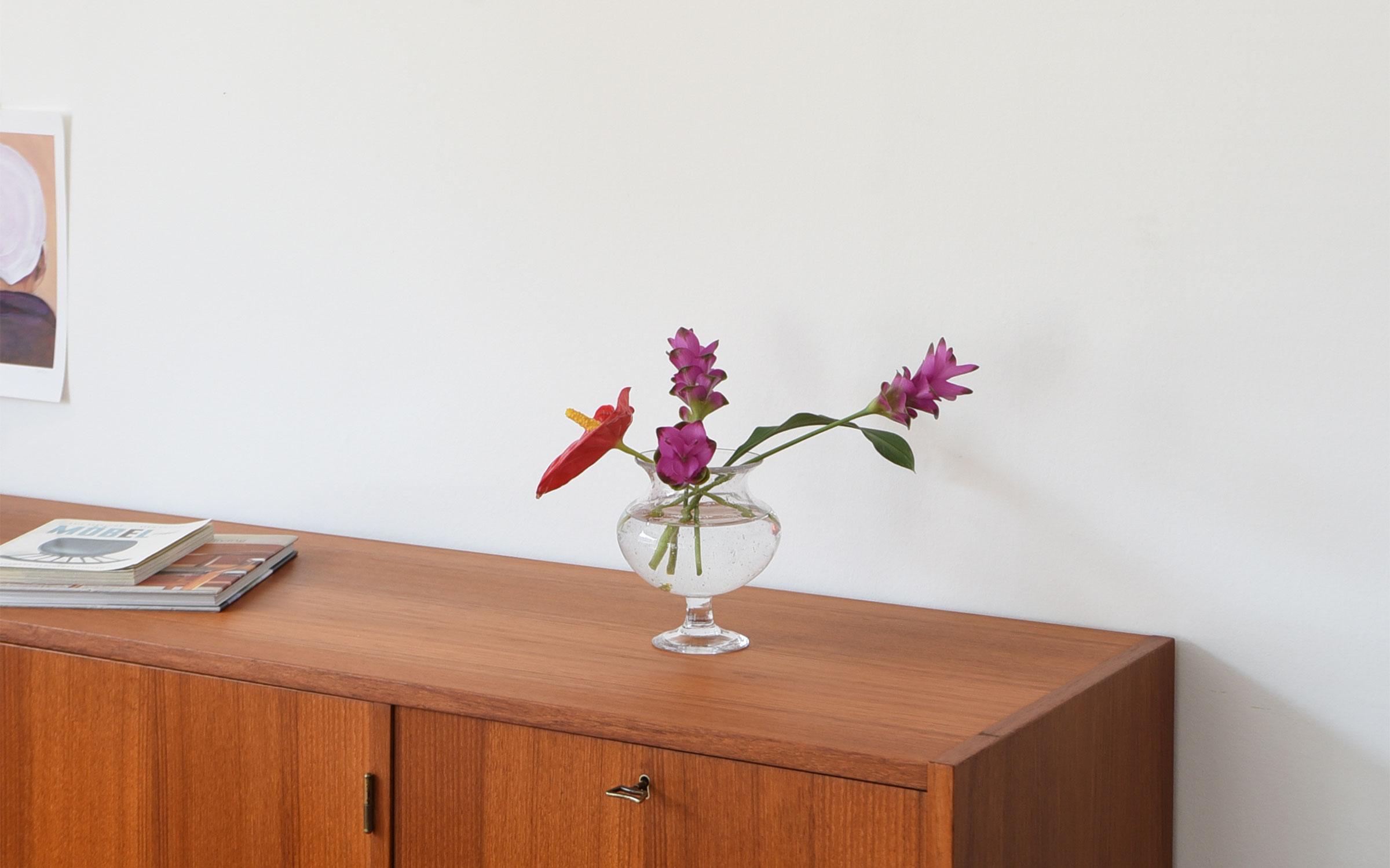 Erik Hoglund (エリック・ホグラン)Clear Goblet 花瓶 透明 クリア