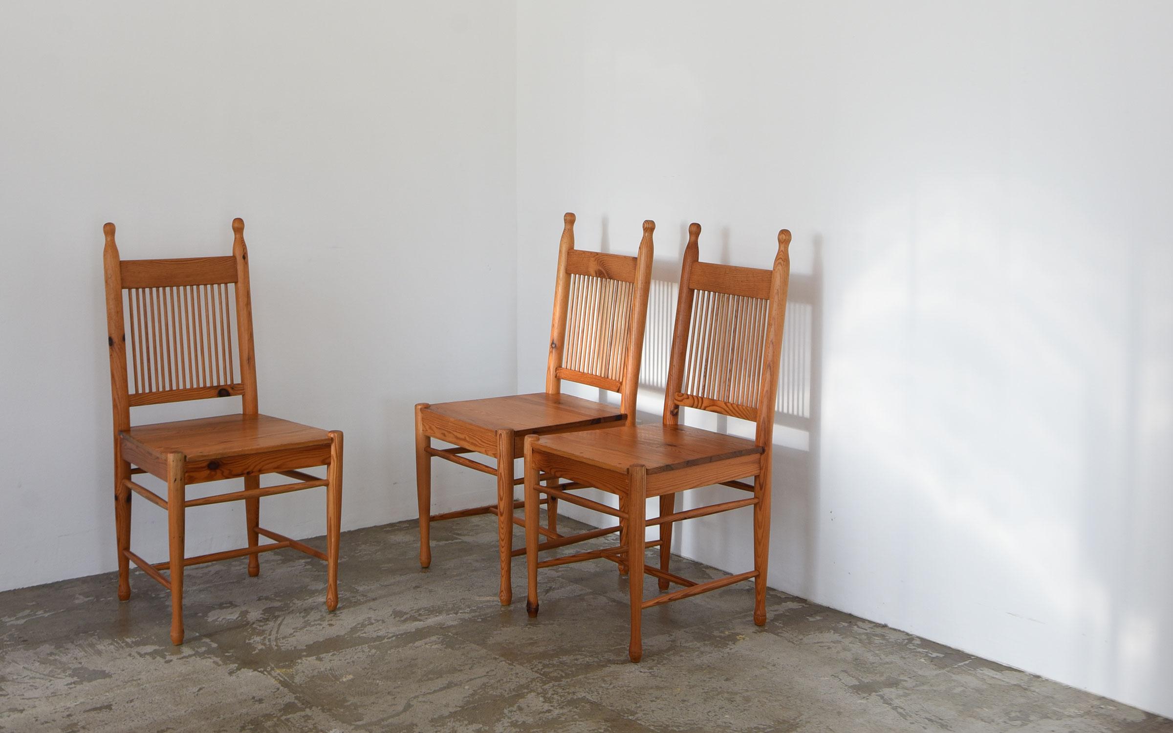 Sven Larsson Pine Chair Sweden