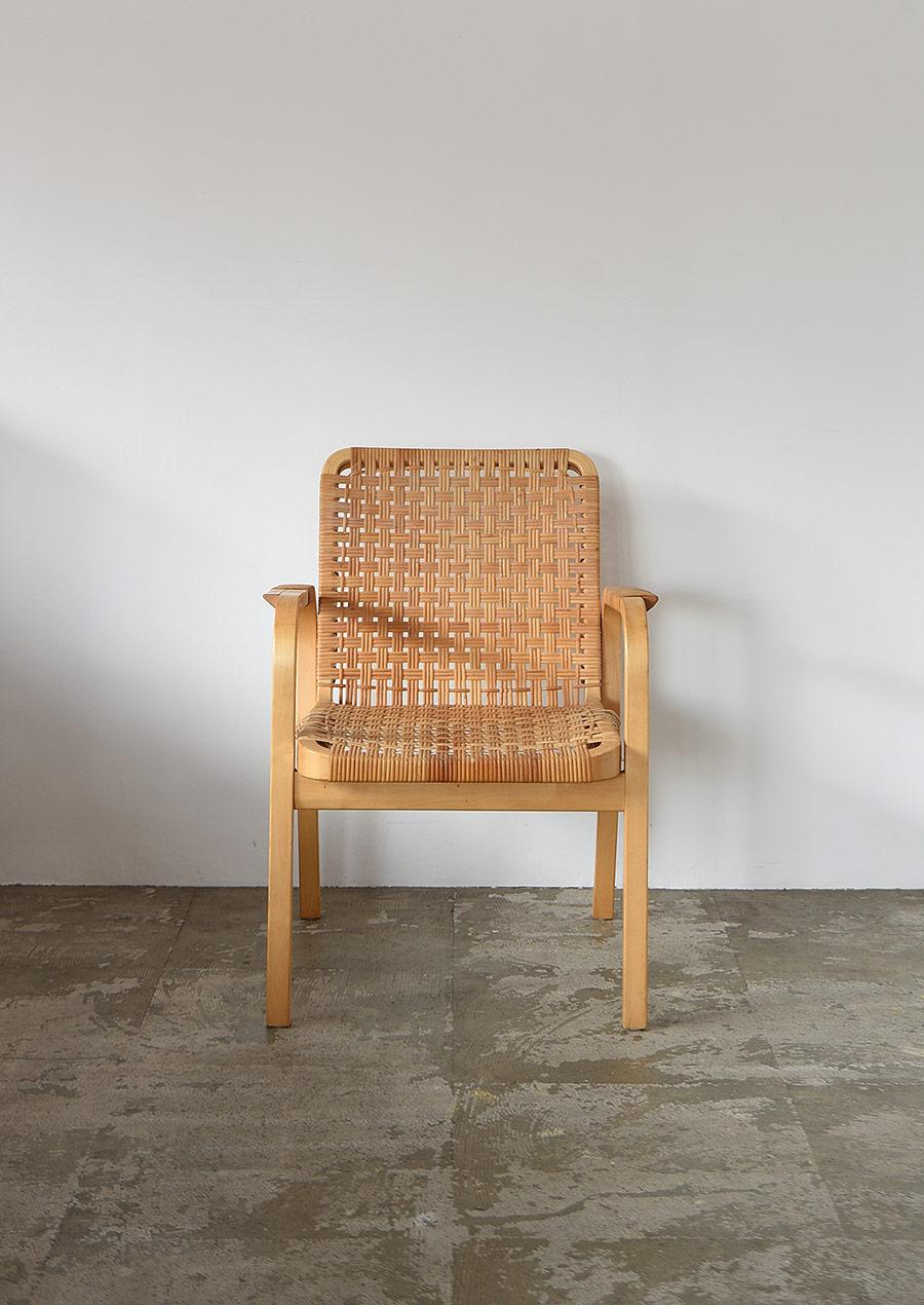 Alvar Aalto No.45 Arm Chair Ratan B Artek