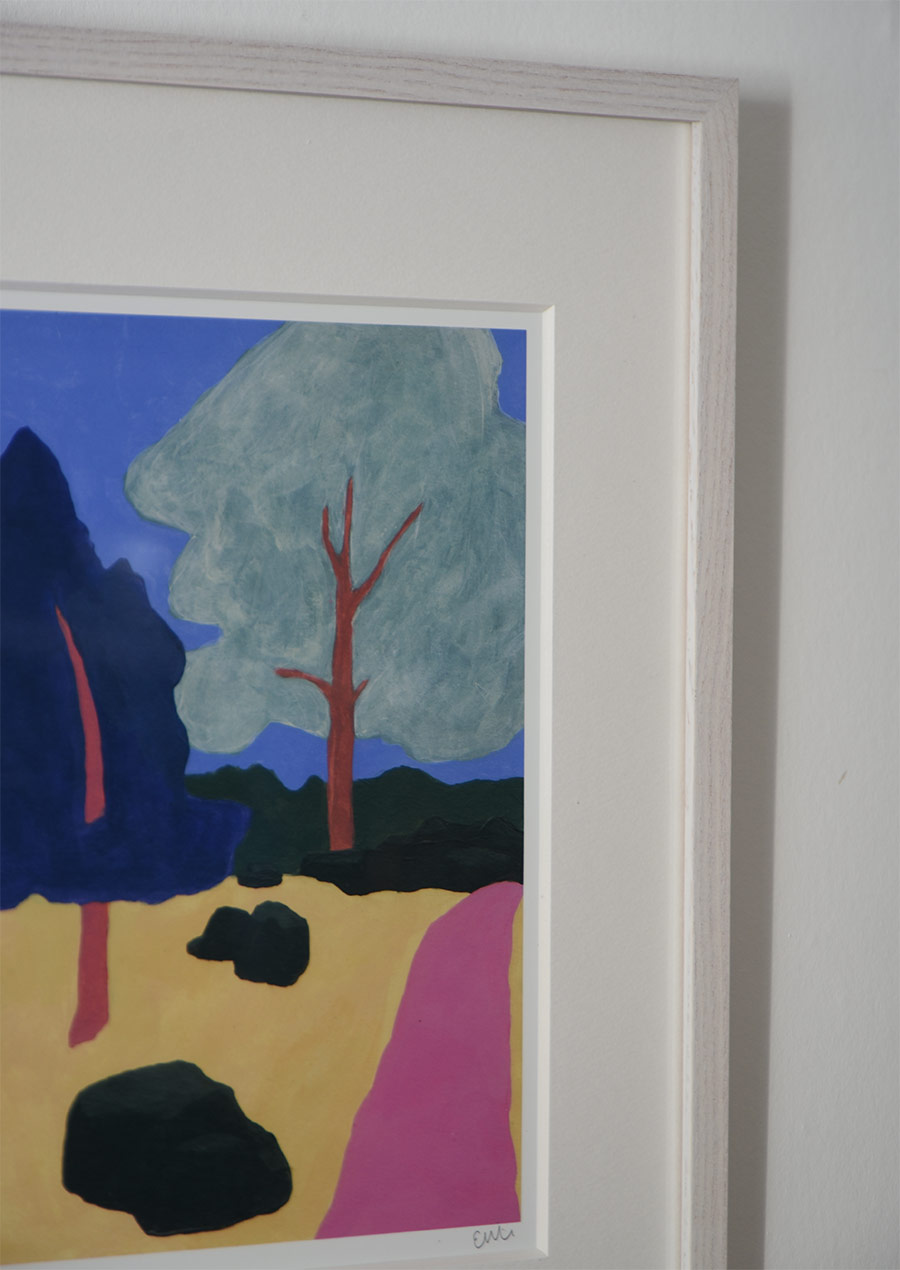 """Emma Wiik Art Print """"Kyrkstigen"""""""