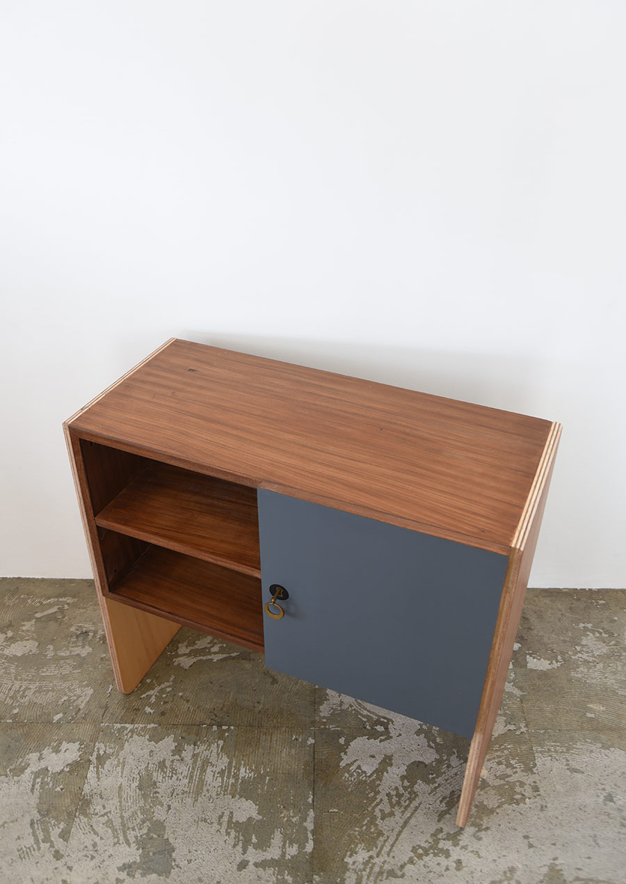 "Reconstruction Mini Side Board ""R-deco"" / 再構築家具 Upcycle アップサイクル"