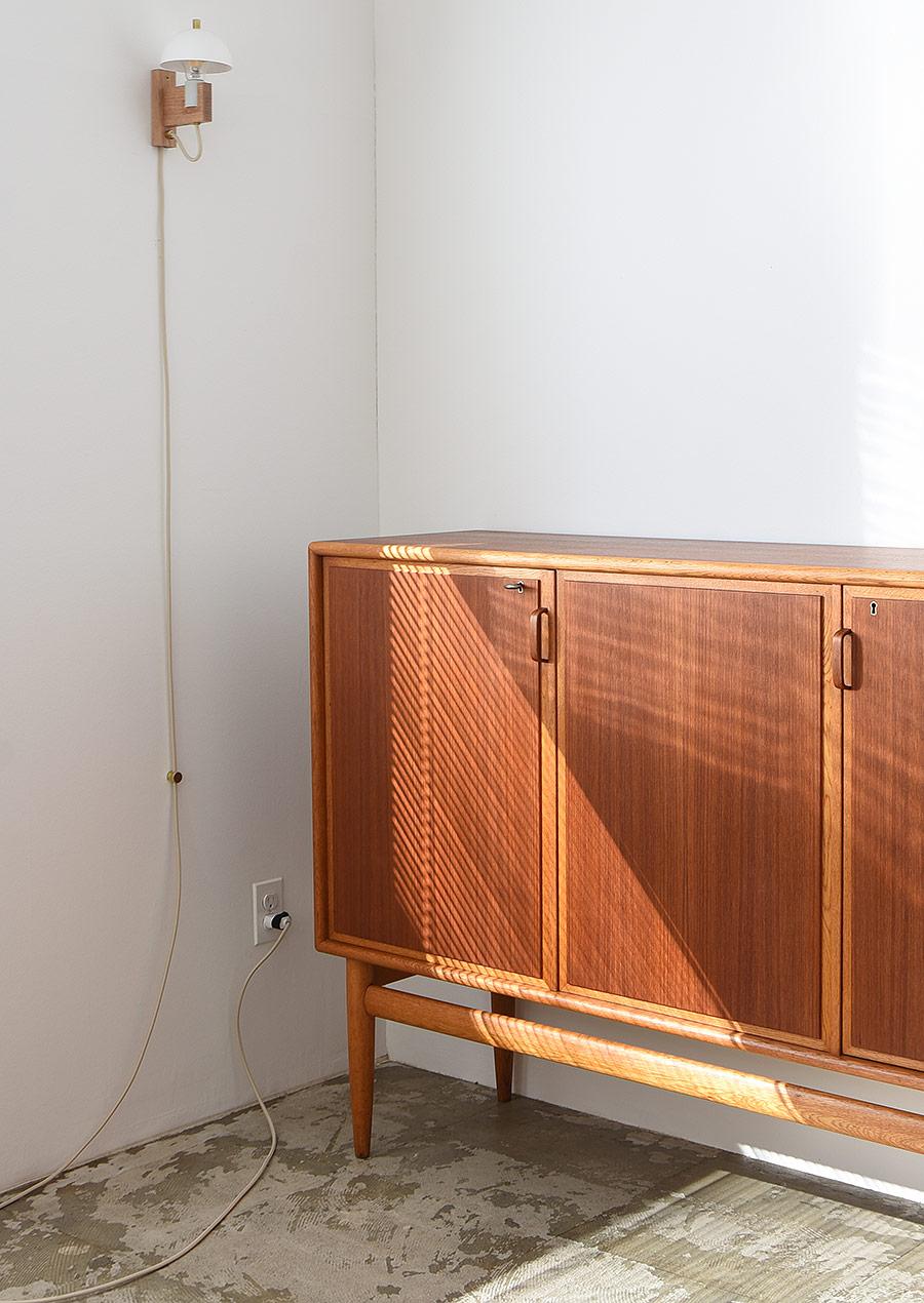 Bertil Fridhagen Side Board in Teak & Oak Bodafors