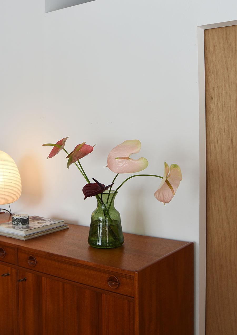 Erik Hoglund (エリック・ホグラン)グリーン 花瓶