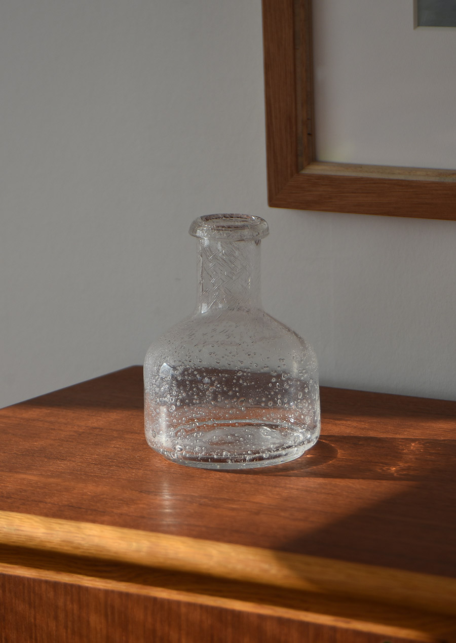 Erik Hoglund Clear Vase エリック ホグラン クリア 花瓶