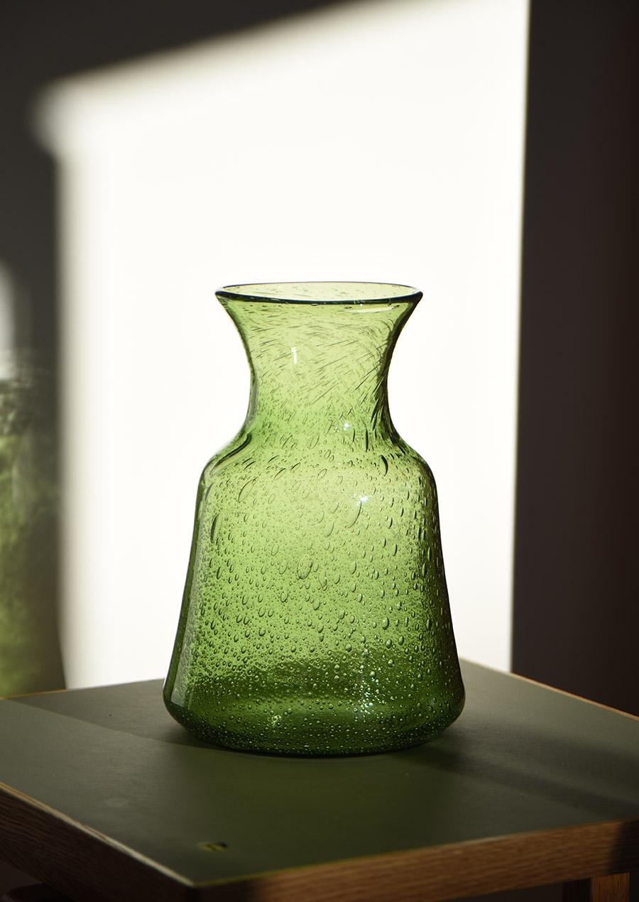 Erik Hoglund Green Vase H225 エリックホグラン 花瓶 グリーン
