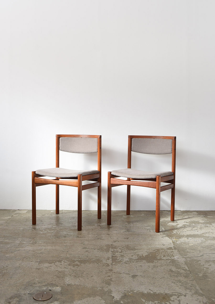 Dining Chair in Teak SAX Mobler / Gray チーク材 ダイニングチェア