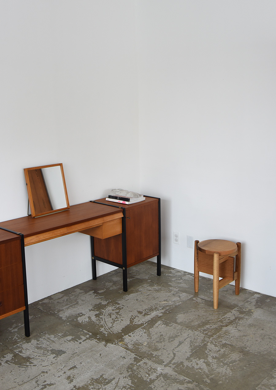 Bertil Fridhagen Desk in Teak & Beech Bodafors
