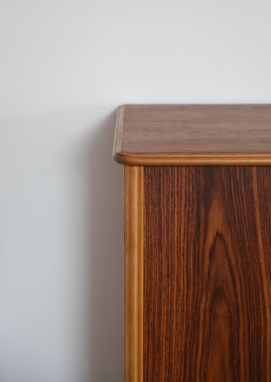 Swedish Side Board W1600 in Teak and Rosewood