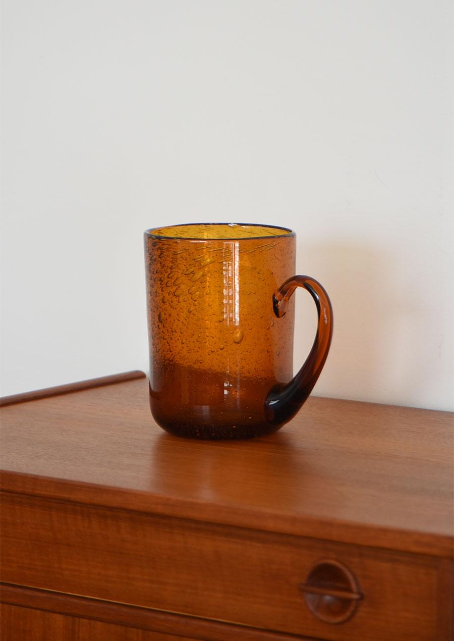 Erik Hoglund エリックホグラン Cup Amber Large 花瓶