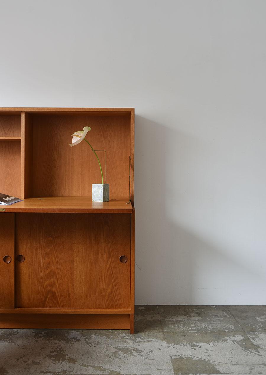 Borge Mogensen Writing Bureau in Teak and Oak