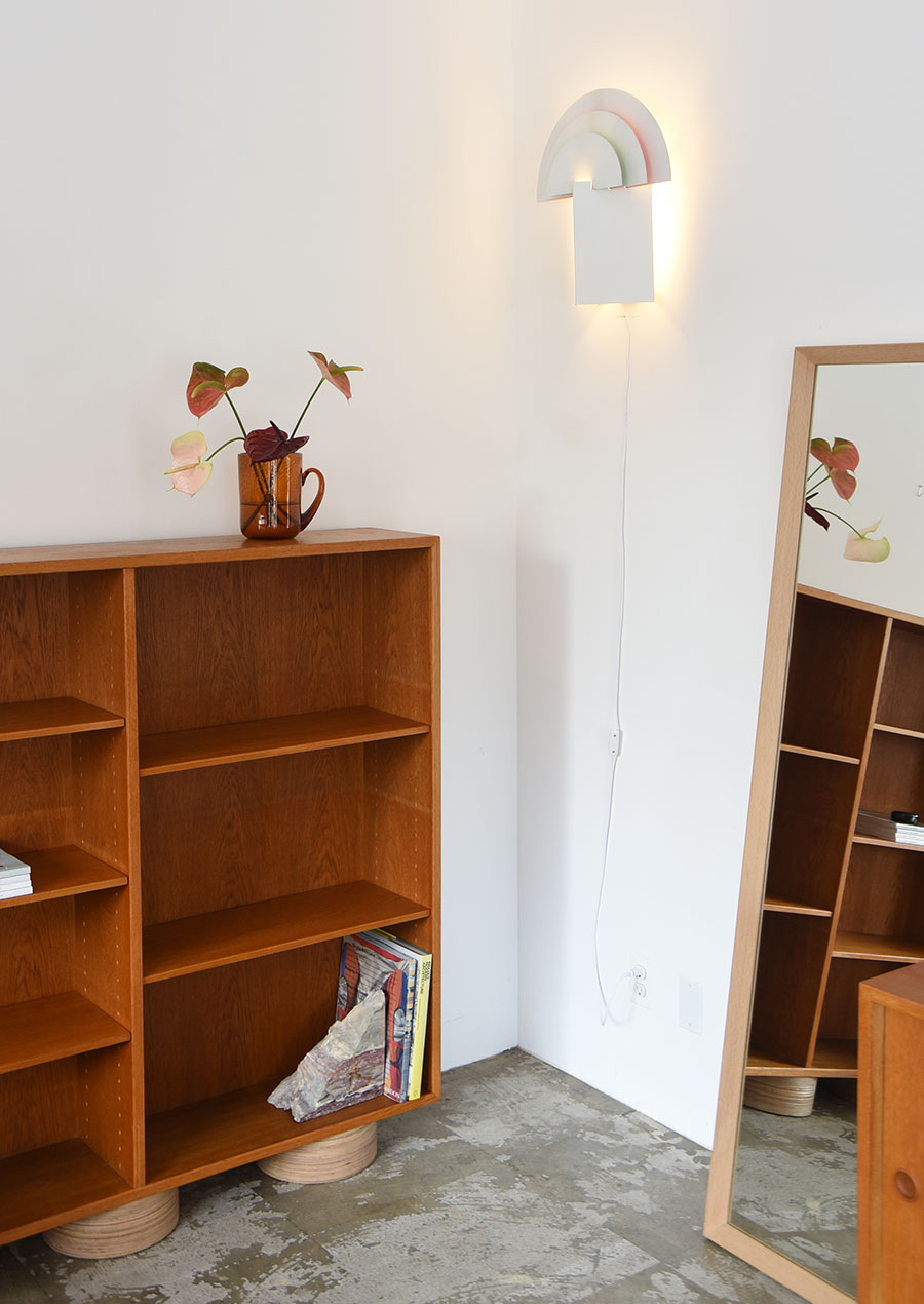 Borge Mogensen ボーエ・モーエンセン Book Shelf with Upcycle Legs / ihållande Original 再構築家具