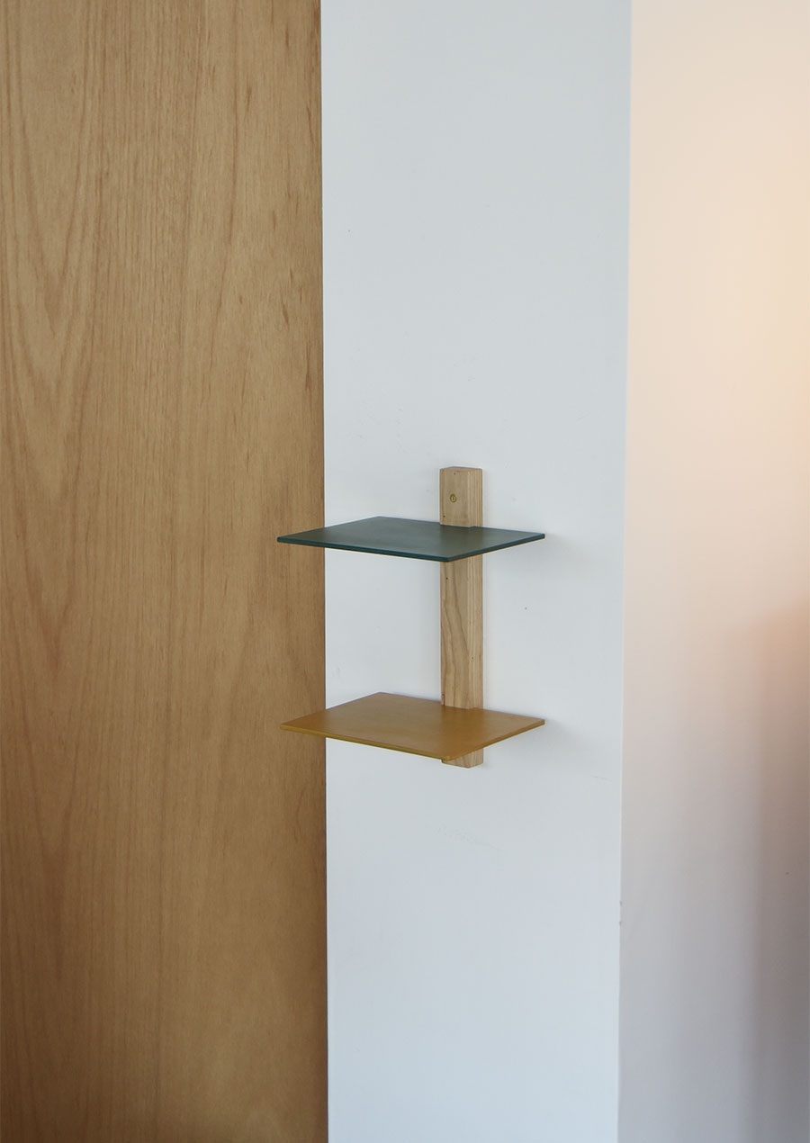 ihållande x quiet space tool and furniture Upcycle Wall Shelf