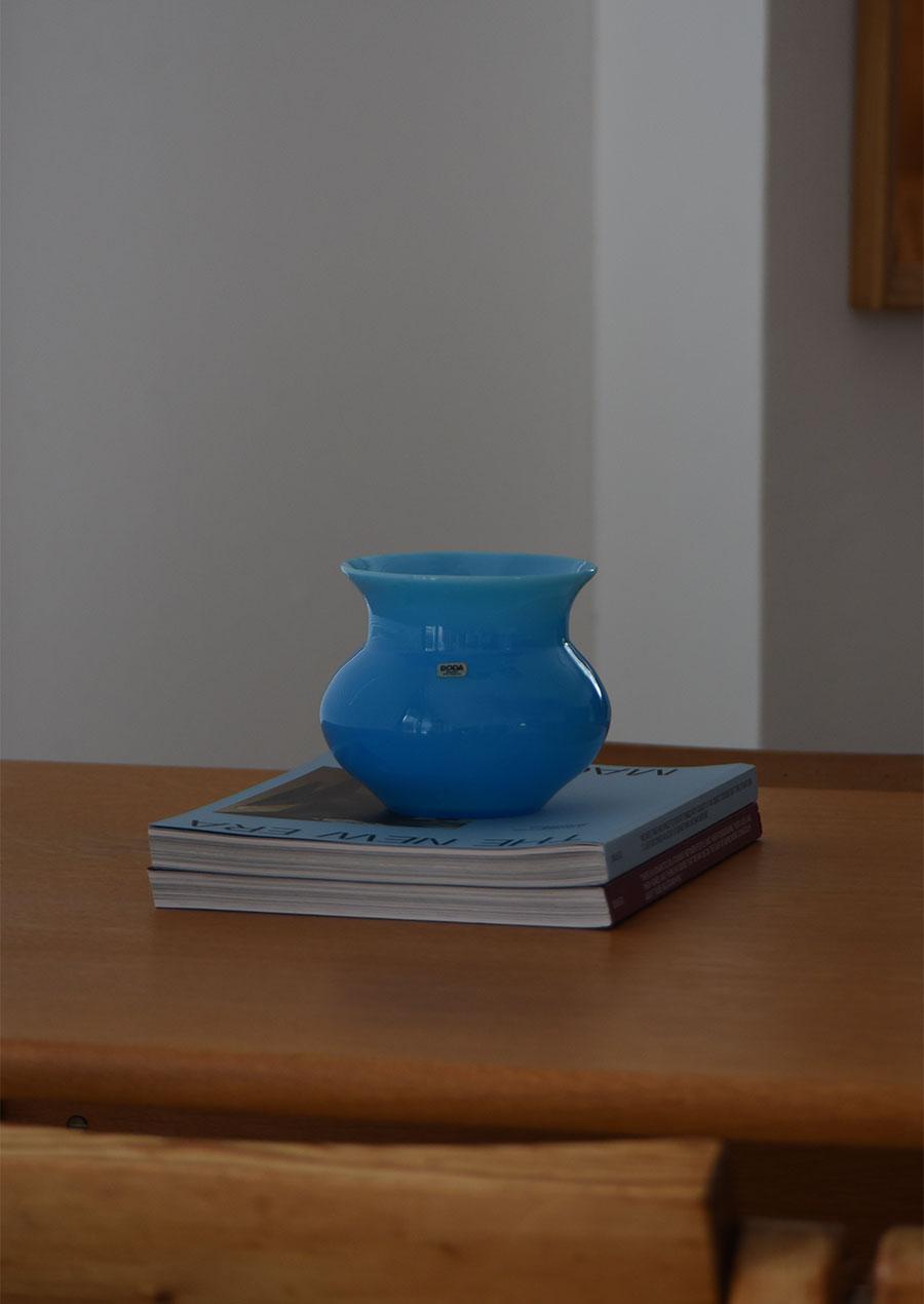 Erik Hoglund Turquoise Blue エリック・ホグラン ターコイズブルー 花瓶